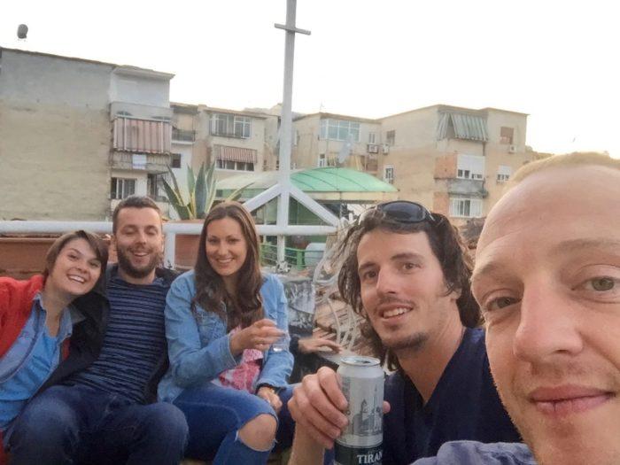 rooftop trip'n hostel tirana