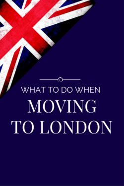 The Essential Moving To London Checklist