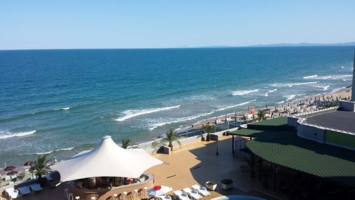 The Black Sea in Nessebar