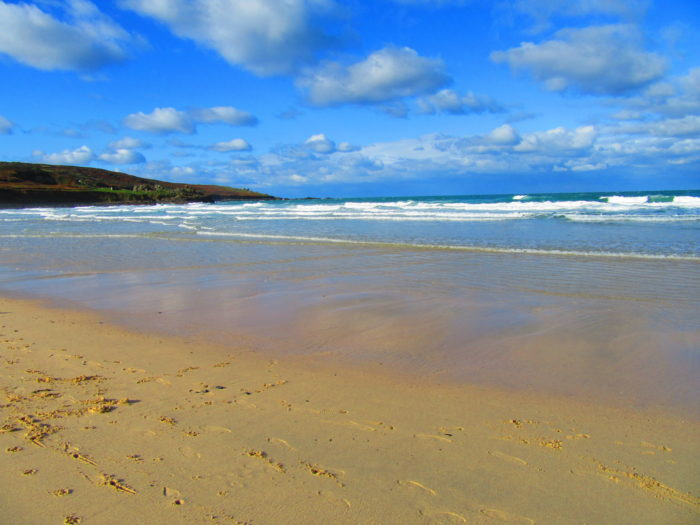 Beach in St Ives, Cornwall