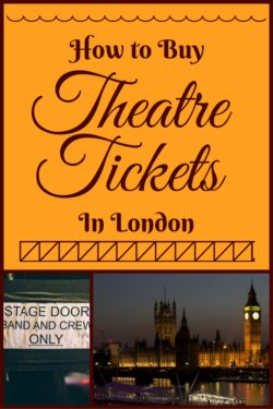 buy theatre tickets in london