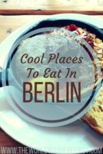 Cool Places to Eat in Berlin
