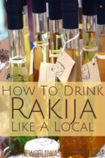 How to Drink Rakija like a Local