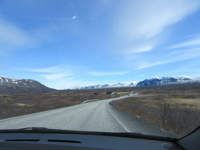 Plenty of amazing views while driving in Iceland!