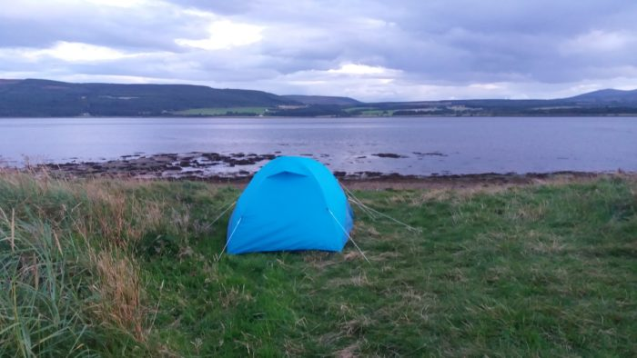 North Coast 500 wild camping