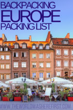 Backpacking Europe Packing List (Updated for 2019!)