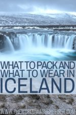 What To Pack & What To Wear In Iceland