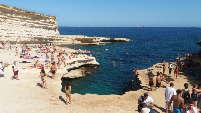 Malta Itinerary: St. Peter's Pool
