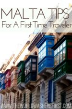 Ten Malta Tips For A First Time Traveller