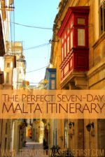 The Perfect Seven-Day Malta Itinerary