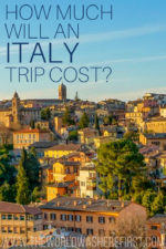 How Much Will an Italy Trip Cost?