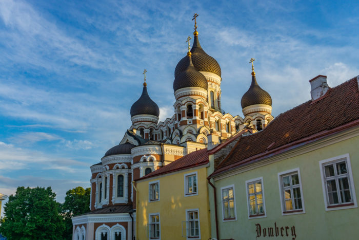 Alexander Nevsky Cathedral is a must visit during your Tallinn itinerary