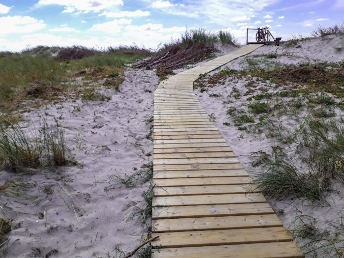Things to do in Klaipeda: Sand dunes on the Curonian Spit