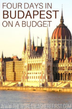 4 Days In Budapest On A Budget