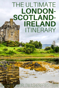 Ten Years of Travel in Scotland, Ireland, England and Wales