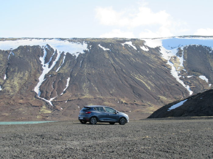 Driving in Iceland means you should have excess insurance