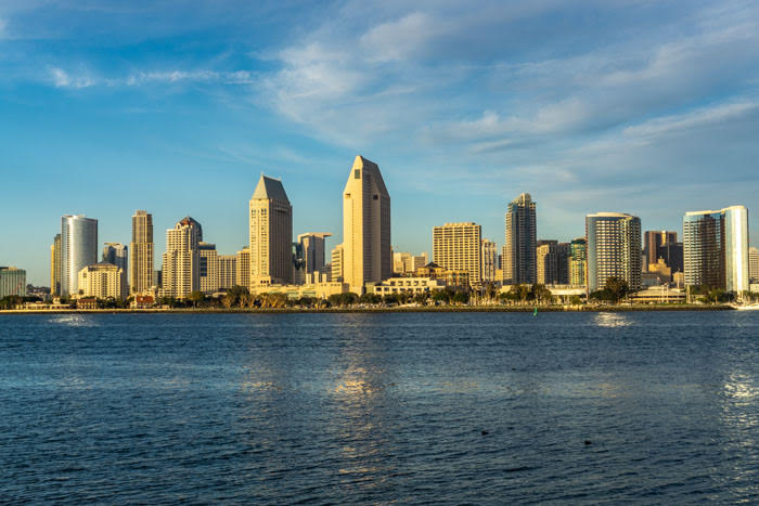Downtown San Diego is a great extension to a Seattle to LA drive!