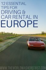12 Essential Driving & Car Rental in Europe Tips