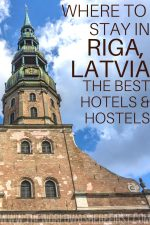 Where to Stay in Riga, Latvia: The Best Hotels & Hostels