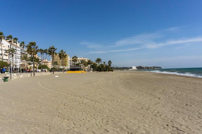Estepona's beautiful beach