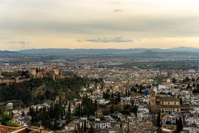 Seville or Granada or Cordoba