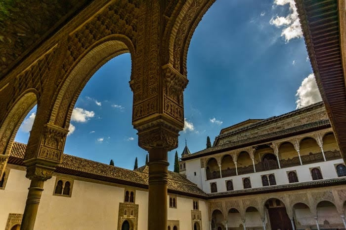 Visiting Granada's Alhambra is a paid activity and should be budgeted for