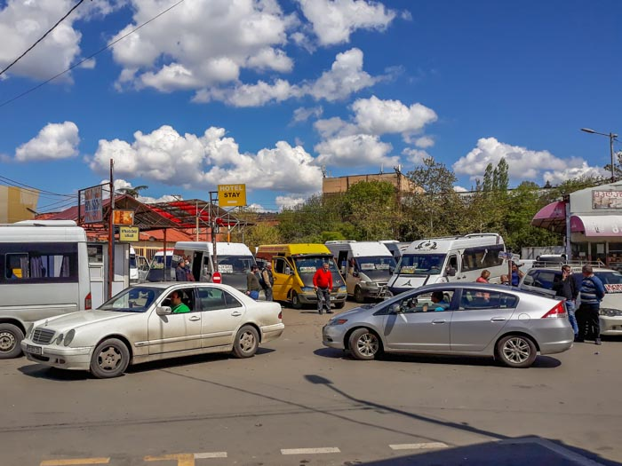 There are regular buses from Tbilisi to Kutaisi at Didube Bus Station