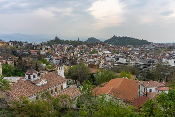 The view of Plovdiv from Nebet Tepe is a one of the best things to do in Plovdiv