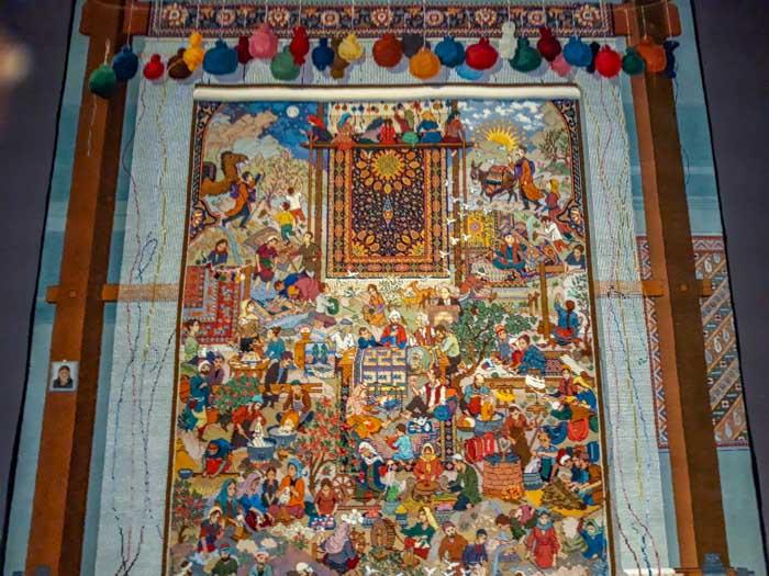 Baku itinerary: carpet museum