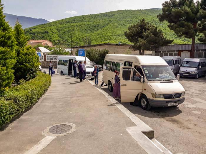 Azerbaijan trip cost: transportation