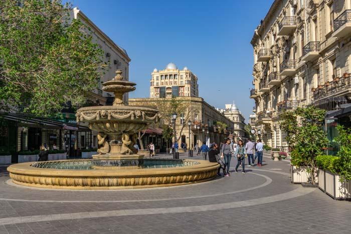 Baku itinerary