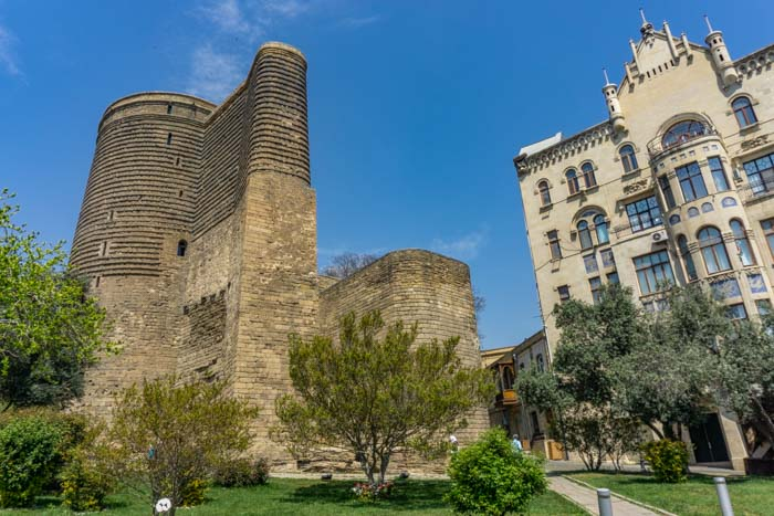 Baku itinerary: maiden tower
