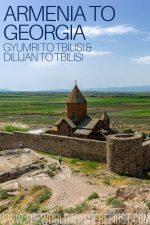 Armenia to Georgia: Gyumri to Tbilisi & Dilijan to Tbilisi