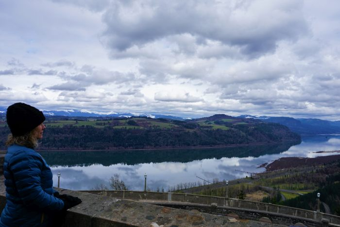 Colombia River Gorge: Stop on the San Francisco to Seattle Drive