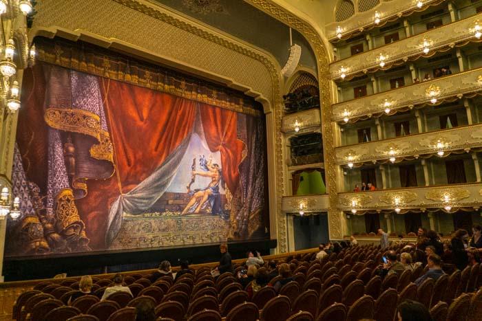 Tbilisi opera interior