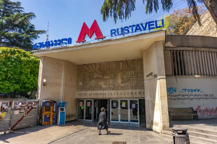 cost of living in tbilisi: metro costs