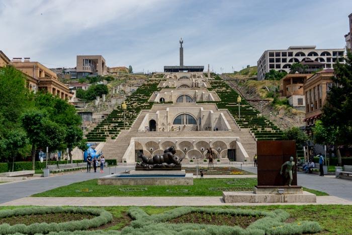 Armenia itinerary: Yerevan Cascade