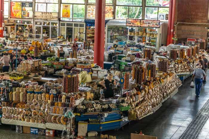 The GUM Market in Yerevan