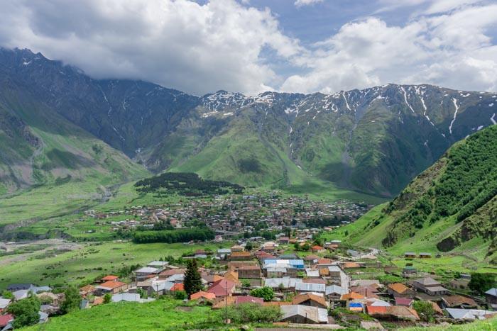 Stepantsminda & Gergeti Villages