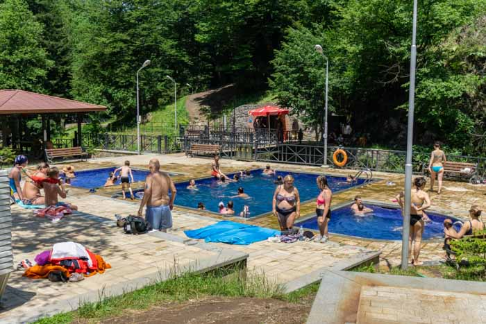Things to do in Borjomi: Sulphur Pools