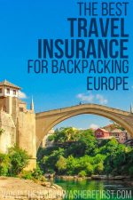 The Best Travel Insurance For Backpacking Europe