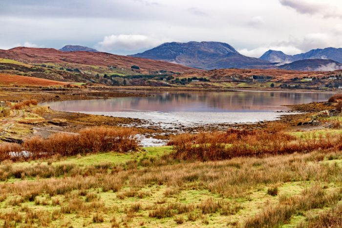 Beautiful scenary in Connemara