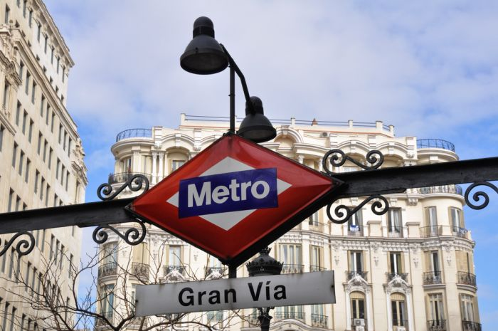 Taking the metro is a great way to reduce your Madrid living cost