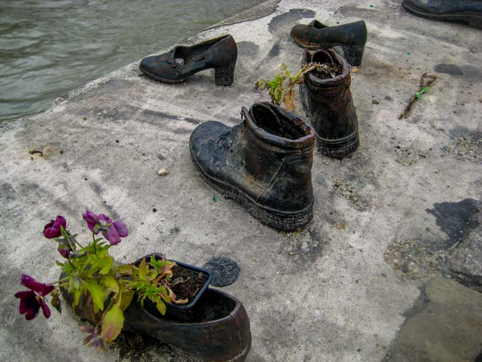 The shoes on the Danube, a moving memorial to the Jews who were murdered during Hungary's Nazi occupation