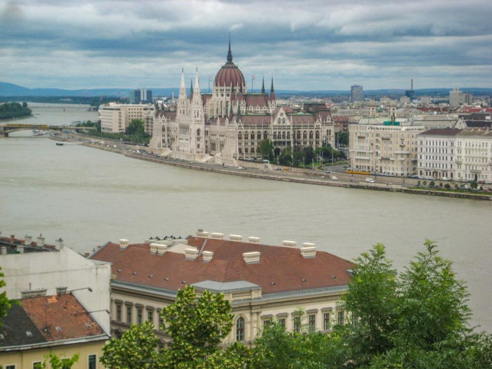 The Parliament is one of the most iconic buildings you will see when spending 4 days in Budapest