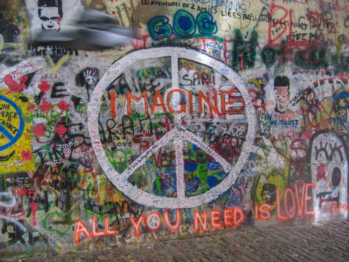 The John Lennon Wall is a must visit while in Prague and as it's free you don't need to worry about increasing your prices in Prague.