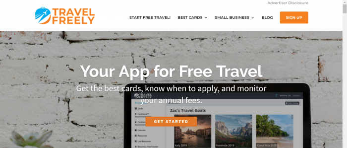 Travel Freely Home Page