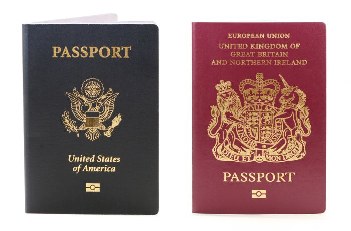 Travelling with two passports can be tricky!