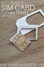 Best Prepaid SIM Card for USA Travel with Data