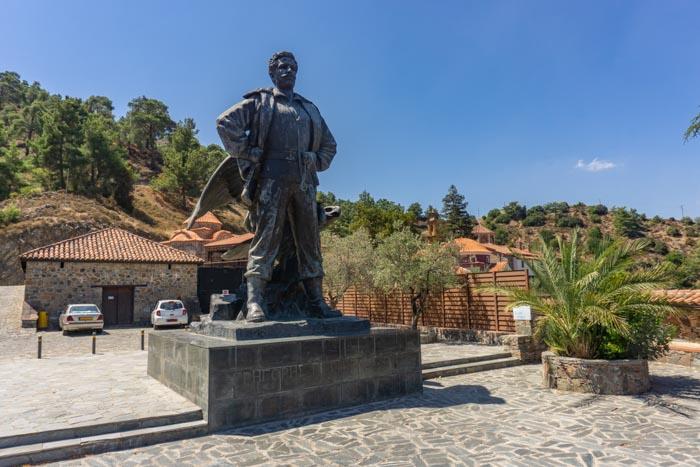 Gregoris Afxentiou Statue
